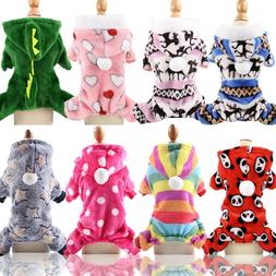 Coat for Dogs Cats Clothes Puppy Warm Hoodie Cats Jumpsuit S