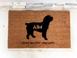 Cockapoo dog Gift- House Warming Gift-Pet Gifts- Welcome Mat