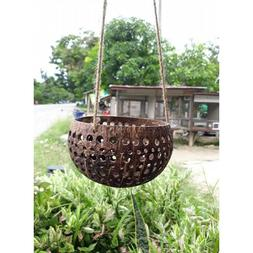 Coconut Shell Hanging Pots For Plants Hanging Pottery Plante