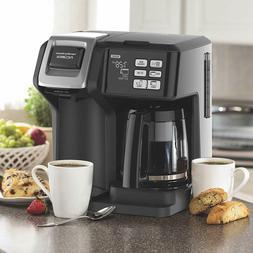Coffee Maker Single Serve Or Full Pot Programmable Cafe Disp