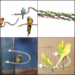 JW Pet Comfy Perch For Birds Flexible Multi-color Rope with