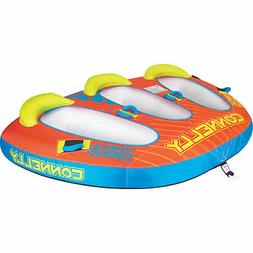 CWB Connelly Triple Threat 3 Person Inflatable Boat Towable
