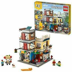 LEGO CREATOR  3-in-1 Townhouse Pet Shop & Café Toy Store Se