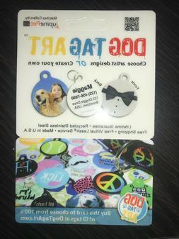Dog Tag Art custom pet ID tag