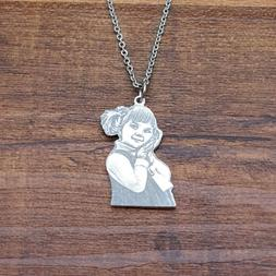 Custom Photo Necklace Personalized Picture Necklace Gift for