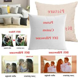Custom Pillow Case Personalised Photo Printed Cushion Cover
