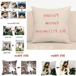 Custom Pillow Case Personalised Printed Photo Print Cushion