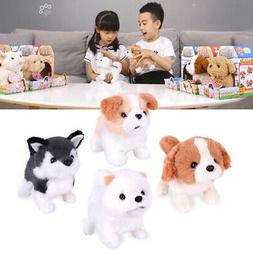 Cute Plush Puppy Dog Interactive Electronic Pet Toy Robotic