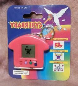 CYBERBABY Electronic Handheld Virtual Pet Game Keychain Tama