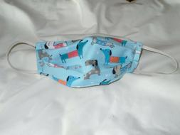 Dachshund Dog Design Animal Pet Adult New Face Mask Cotton R