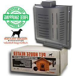 Hound Heater Deluxe Plus Dog House Furnace Official Pet Hous