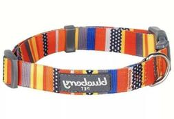 Blueberry Pet Designer Dog Collar, Nautical Flags, Size XS,