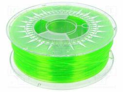 DEV-PETG-1.75-BGT Filament: PET-G - transparent - green  - 1