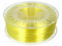 DEV-PETG-1.75-BYT Filament: PET-G - transparent - yellow  -