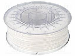 DEV-PETG-1.75-WH Filament: PET-G - white - 1kg - 220-250°C