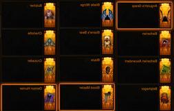 Diablo 3 ROS XBOX ONE Cosmetics Bundle  Pets, Wings, Banners
