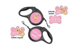 Disney Nala Custom Pet Id Dog Tags & Retractable Leash Perso