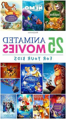 Disney Pixar DVD Movies Lot - Free Shipping when you order t