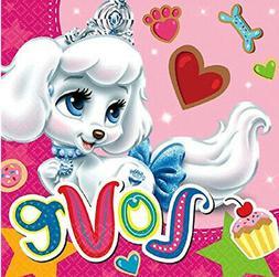 Disney Princess PALACE PETS luncheon PAPER NAPKINS birthday