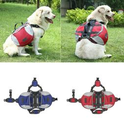 HDE Dog Backpack Camping Hiking Travel Gear for Pets Adjusta