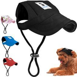 dog baseball cap outdoor sun protection hat