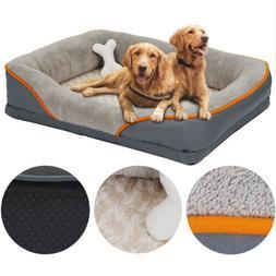 dog bed memory foam pet bed