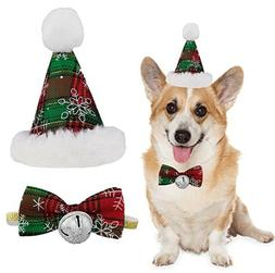 Do4Pets Dog Birthday Bandana Hat Bow Tie for Pet Puppy Cat B