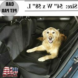 Dog Car Seat Covers 100% Waterproof Pet Hammock Seat Back Re
