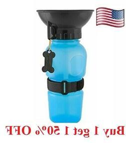 Dog cat pet  Mug Portable Travel Auto  Bottle Water Bowl Fit