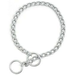 dog choke chain collar all sizes dog