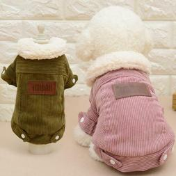 Dog Coat Jacket Pet Supplies Clothes Winter Apparel Clothing
