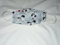 Dog Design Animal Pet Adult New Face Mask Cotton Reusable Wa