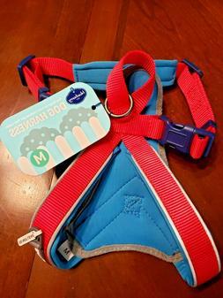 Blueberry Pet Dog Harness Safe  Comfy 3M Reflective Multi-Co