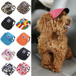 dog hat pet baseball cap sport visor