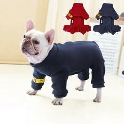 Dog Jumpsuits for Small Dogs Pet Clothes Winter Coat Jack Ru