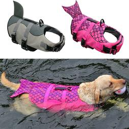 Dog Life Jacket Large Medium Pet Swimming Protector Dog Life