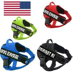Dog Pet Harness No Pull Reflective Service Puppy Outdoor Wal