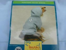 DOG/Pet  HOODED SOCCER SWEATSHIRT  by CASUAL CANINE size Sma