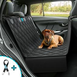 Dog Seat Cover Hammock for BackSeat Durable Waterproof Car T