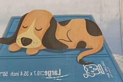 "Mora Pets Dog Self Cooling Mat Large 20""x35""Scratch resi"