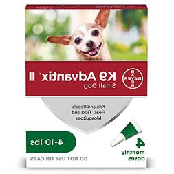 Dog Supplies K9 Advantix Ii Green .4Ml 1 - 10Lb 4Pk by K-9 A
