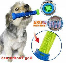 Dog Toothbrush Chew Bite Toy Pet Chewbrush Stick Teeth Clean