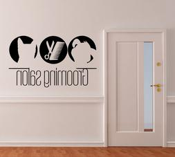 Domestic Animals Wall Decals PETS Decal Dog Cat Vinyl Sticke