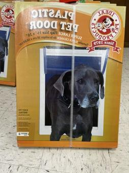 Ideal Pet Products Original Pet Door with Telescoping Frame,