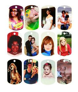 Double Sided Full Color Custom Personalized Photo Dog Tag Pi
