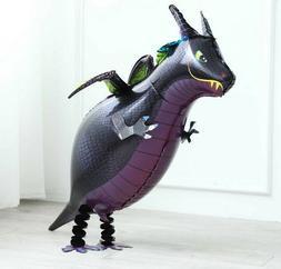 Dragon Walking Pet Balloon Animal Airwalker Foil Helium Kids