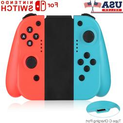 For Nintendo Switch  Wireless Bluetooth Controllers - Blue/R
