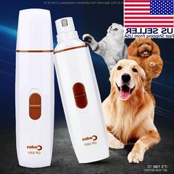 Hertzko Electric Pet Nail Grinder Gentle, Painless Paws Trim