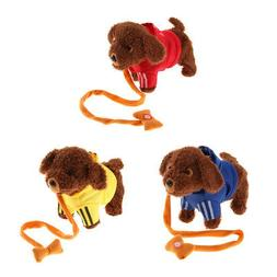 Electric Teddy Dog Toy Stuffed Animals Interactive Pets Toy