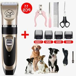 Electric Animal Pet Trimmer Shaver Razor Grooming Quiet Clip